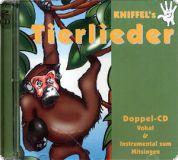 KNIFFEL's Kinderlieder Vol. 7 (Tierlieder) - Doppel CD